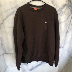 Nike men's brown sweater